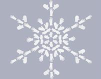 """Vizir/Tide """"Snowflakes"""" Campaign, Print 2004"""