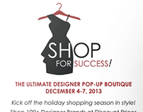 Shop for Success Pop-Up Shop
