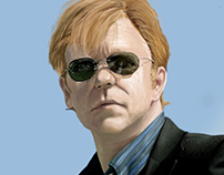 Horatio Caine digital painting