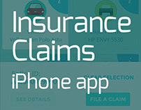 Insurance Claims - iPhone app