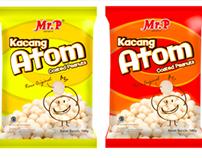 Mr.Peanut Kacang Atom