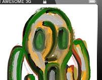 On line art