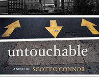 """Untouchable"" Book Cover Design"