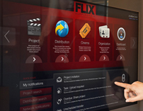 FLIX Touchscreen Interface