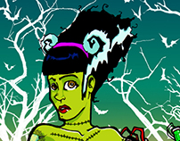 NEW AGE BRIDE of FRANKENSTEIN