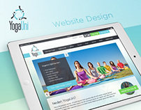 YogaUni Website Design