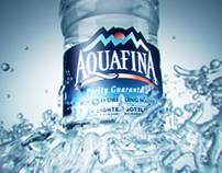 Aquafina 3D animation
