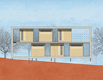 Modular pavilions for athens archeological sites