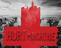 """Hurt Machine"" Book Cover Design"