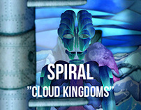 "Spiral - ""Cloud Kingdoms"" - animated music clip"