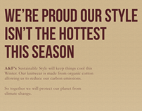 Abercrombie & Fitch's Sustainable Style