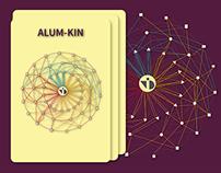 Alum-Kin ( Visualization of NID Alumni )