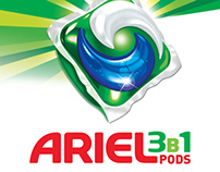 Ariel 3in1 advertising compain