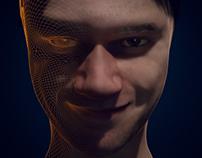 Self Portrait in Blender