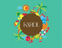 Sacola Primavera/Verão Karol