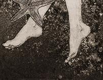 "Illustrations for ""The Amphibian Man"""