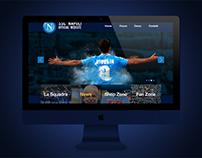 SSC Napoli Website Redesign