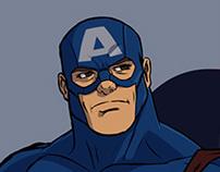 Captain America  (James Buchanan Barnes)