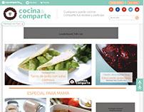 Cocina y comparte