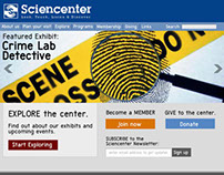 Science Center Web Design