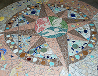 Jaycee Park Mosaic, a community arts collaboration