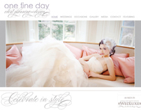 One Fine Day Brand Identity and Website