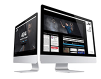 UX / UI design for Joe Moravsky