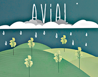 Avial band poster