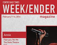 Weekender Magazine Redesign