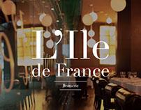 L´Ile de France / Línea Gráfica