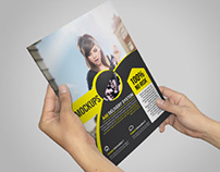 Photorealistic Brochure / Catalog Mockups