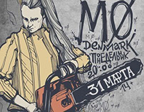 Poster for MØ group