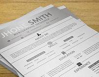 Simple Resume + Cover Letter + Business Card
