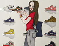 Nike Shoes Girl