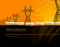 Electric Contractor Dynamic Flash Template