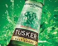 TUSKER MALT LAGER - FRESH CAMPAIGN. RWANDA MARKET.