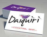 Logo Identity for Daiquiri Cocktail Bar