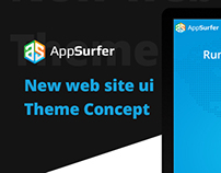 Theme concept for AppSurfer
