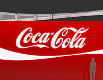 Coca-Cola multiple-brand exhibition stand (concept)
