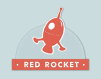 Red Rocket cushions