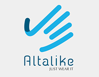 Altalike Gloves Logo