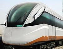 Dubai Subway Trains Design