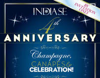 India Se Anniversay Flyer