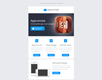 Appromote, Responsive Email Template for App Promotions