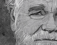 Philip Seymour Hoffman Portrait