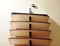 Alice, branzino e barracuda - shoe rack