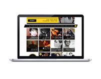 The Barby club - Respon' website for a music show club