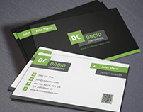 Corporate Flat Business Card