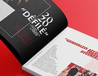 Maison Margiela 'Défilé' F/W 2020 Magazine Spread