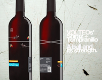 VOLTEO Wine Label